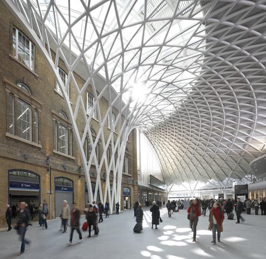 Estación King's Cross / John McAslan + Partners. Imágen © Hufton+Crow
