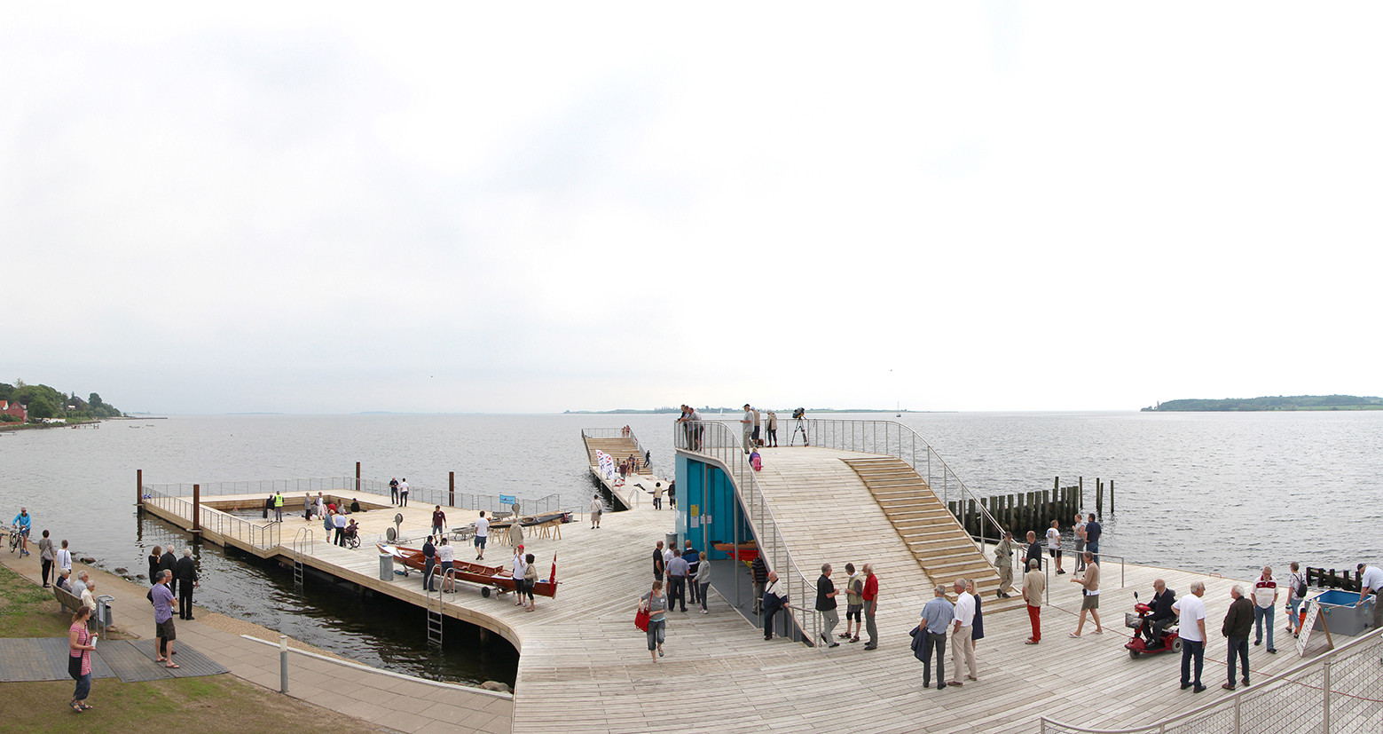 Faaborg Harbor Bath / URBAN AGENCY + JDS + CREO ARKITEKTER, Courtesy of Urban Agency