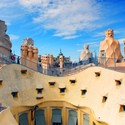 Casa Mila rooftop. Image Courtesy of http://www.lowcostholidays.com/