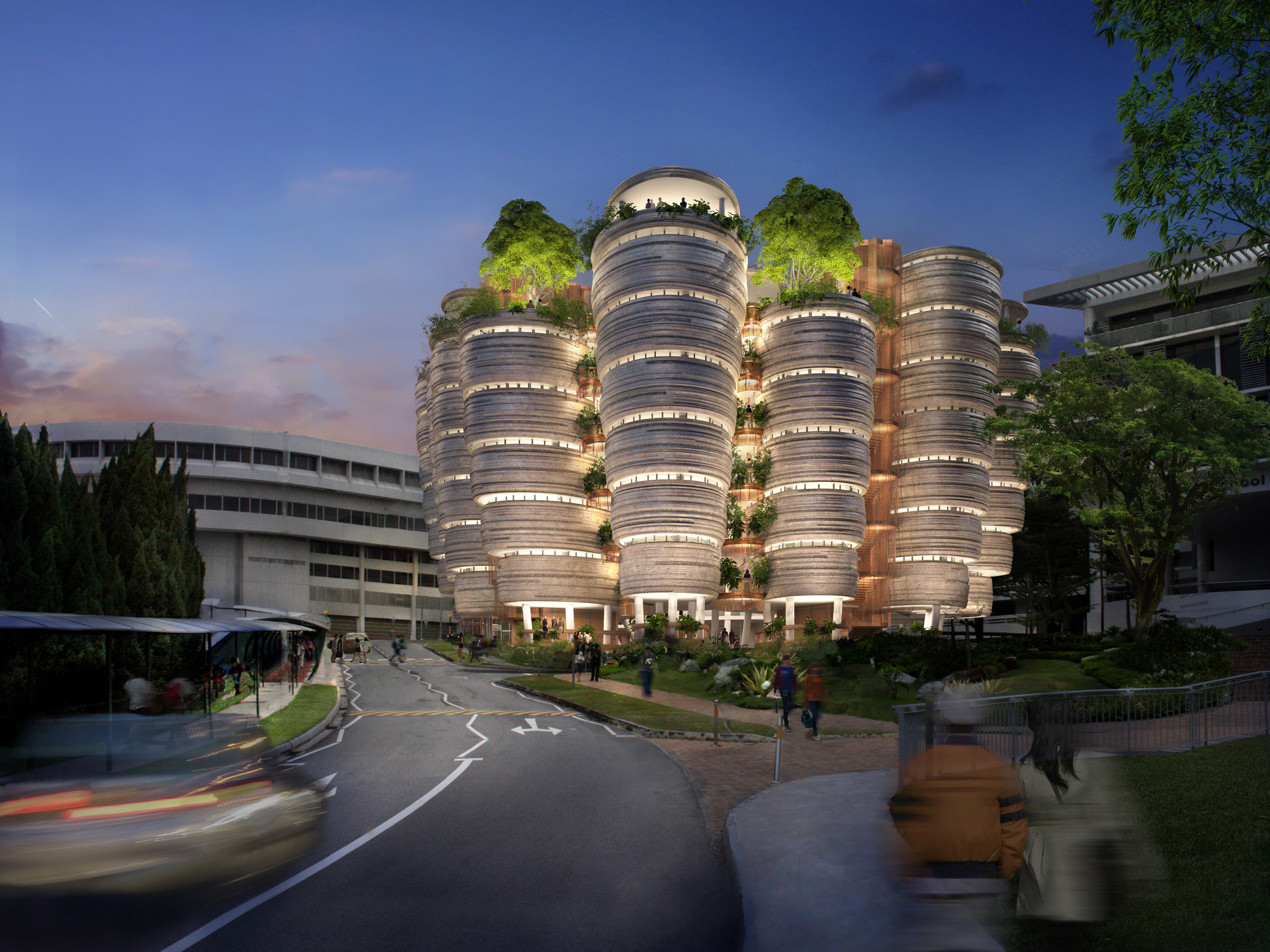 "Heatherwick Studio To Build ""Learning Hub"" in Singapore, Courtesy of Heatherwick Studio"