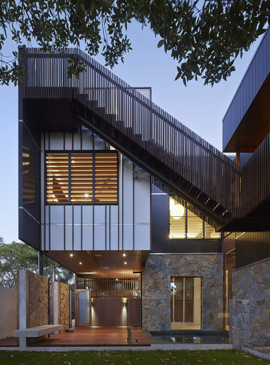 Bambara Street / Shaun Lockyer Architects, © Scott Burrows