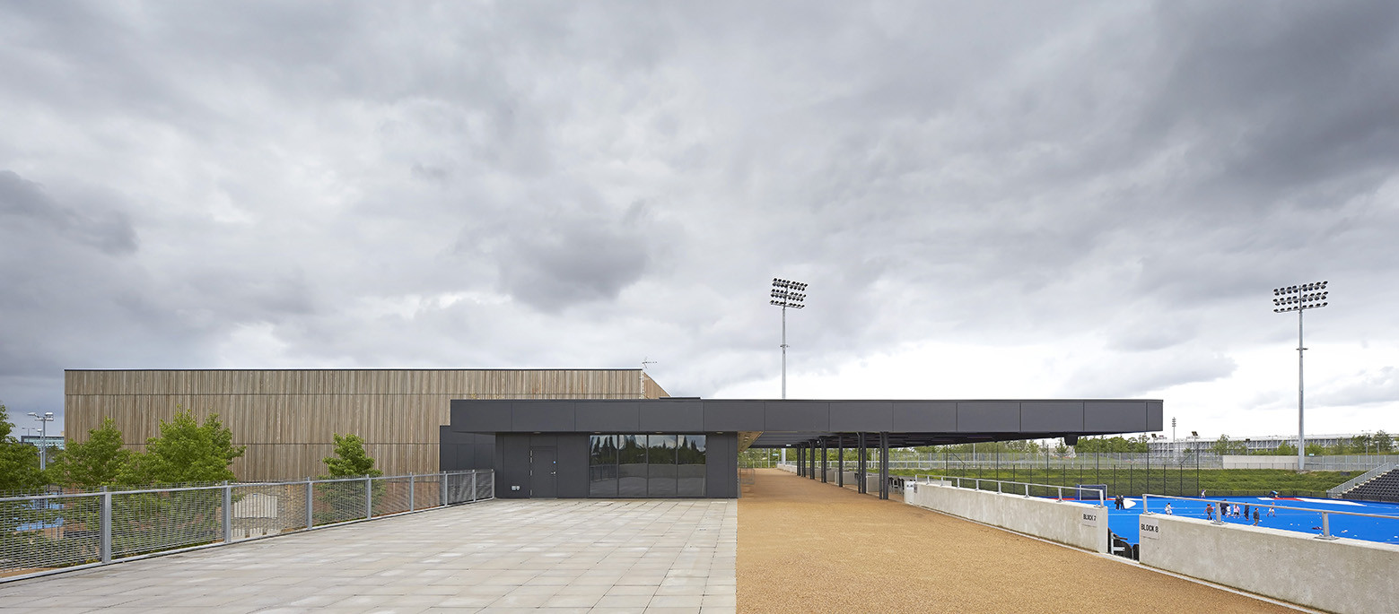 Lee Valley Hockey and Tennis Centre / Stanton Williams, © Hufton+Crow