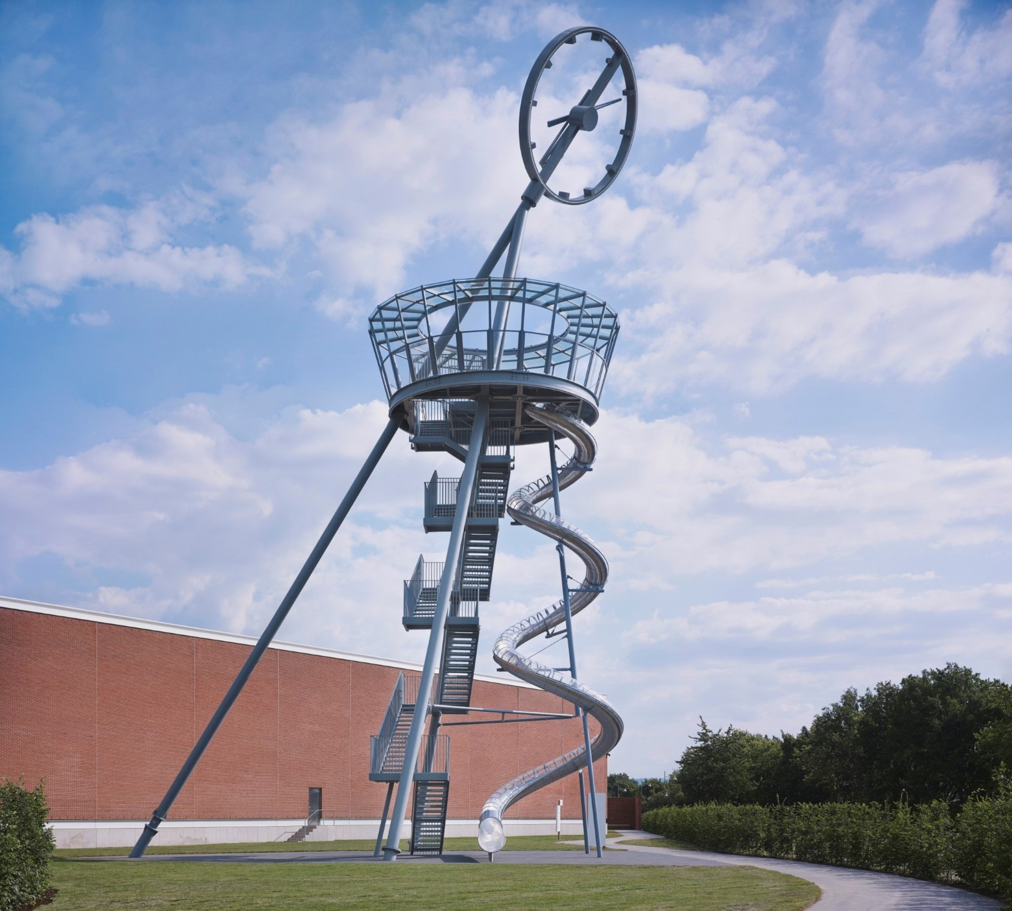Vitra Campus Adds A Viewing Tower With a Slide, Vitra Slide Tower / Carsten Höller. Image © Vitra