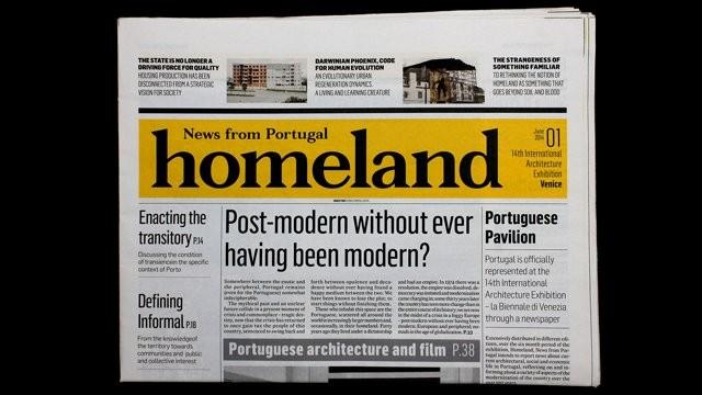 O jornal português na Bienal de Veneza 2014