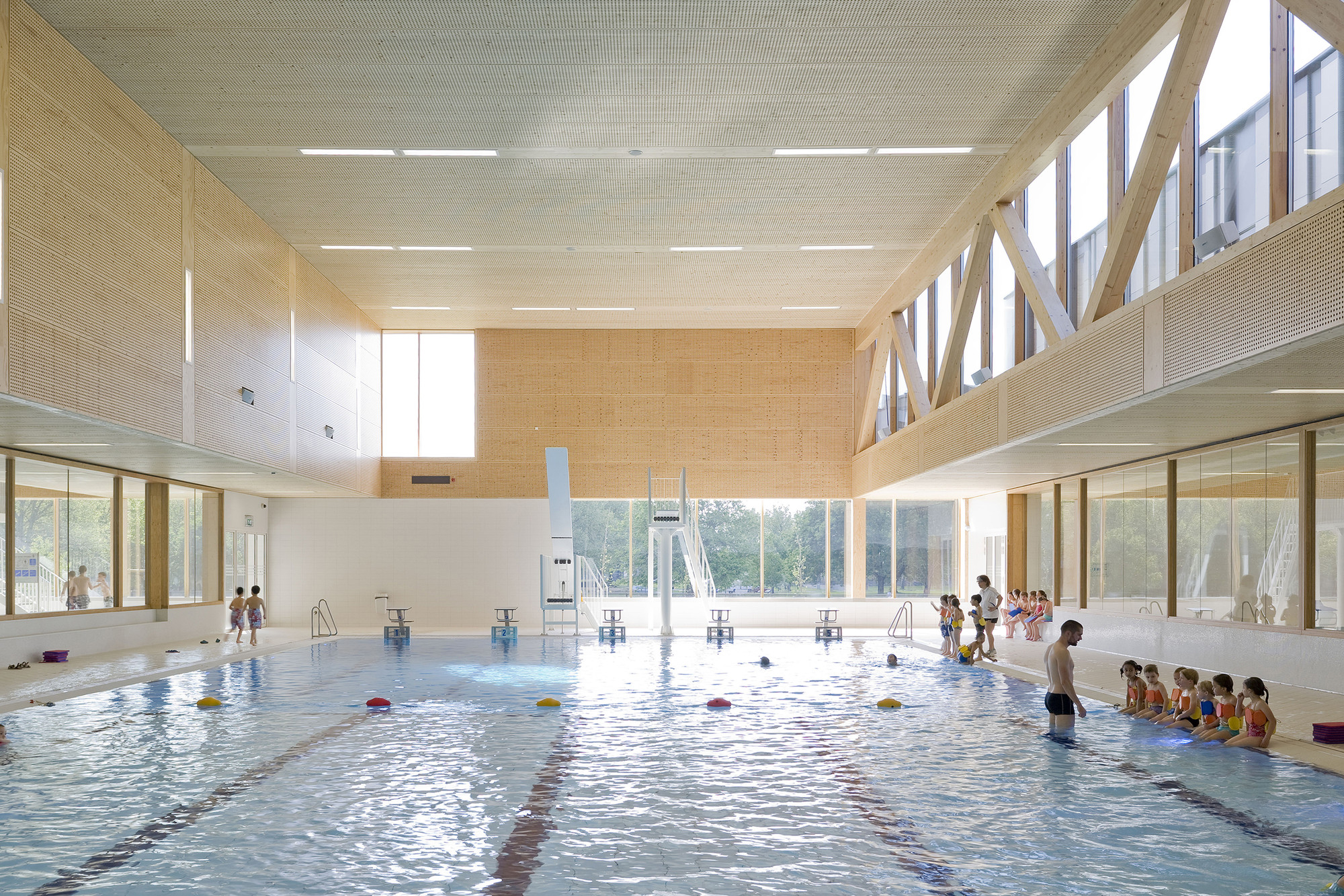 Gallery Of Multifunctional Swimming Pool Complex De Geusselt Slangen Koenis Architects 5