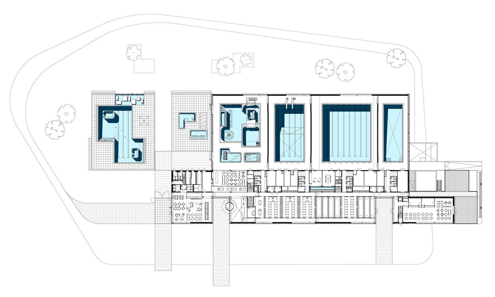 Gallery of Multifunctional swimming pool complex De Geusselt ...