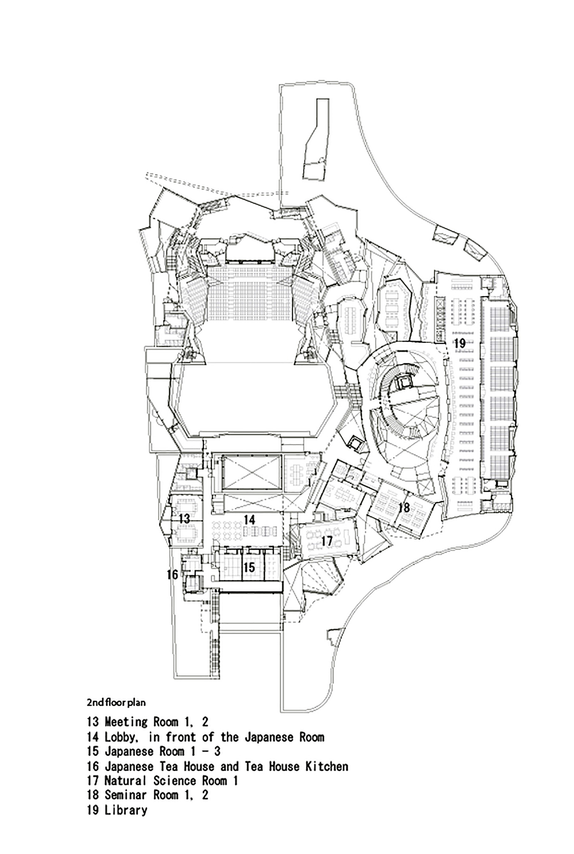 architectural drawings floor plans. Simple Drawings Kadare Cultural CentreSecond Floor Plan Inside Architectural Drawings Plans W