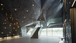 Niigata City Konan Ward Cultural Center / Chiaki Arai Urban and Architecture Design