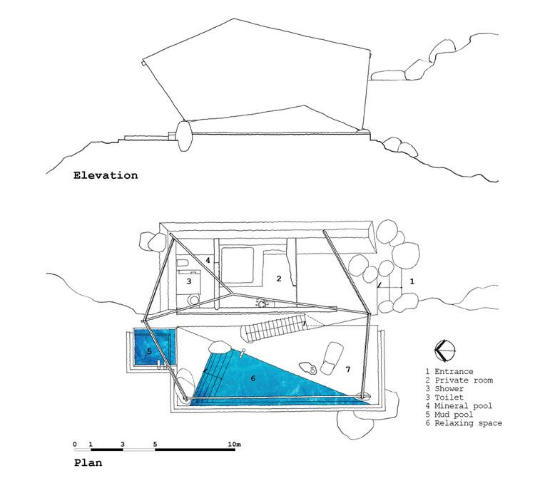 Resort Elevation Plan : La carpa a studio plataforma arquitectura