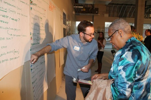 A Rose Fellow working on a community design project. Image Courtesy of Enterprise Community Partners