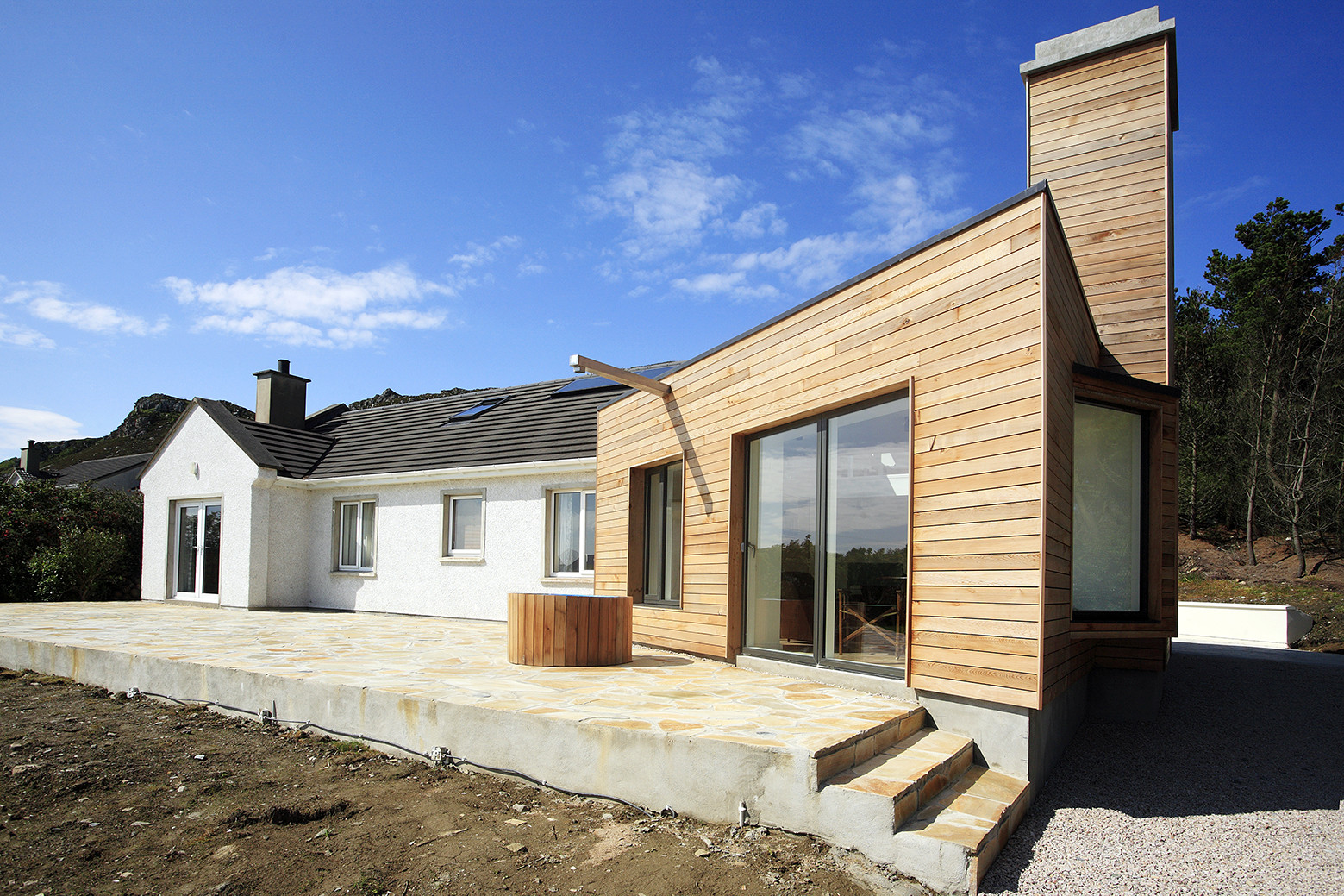 Drumnacraig extension macgabhann architects