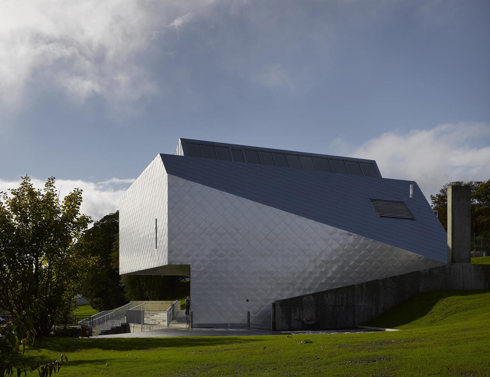 Regional Cultural Centre / MacGabhann Architects, © Dennis Gilbert