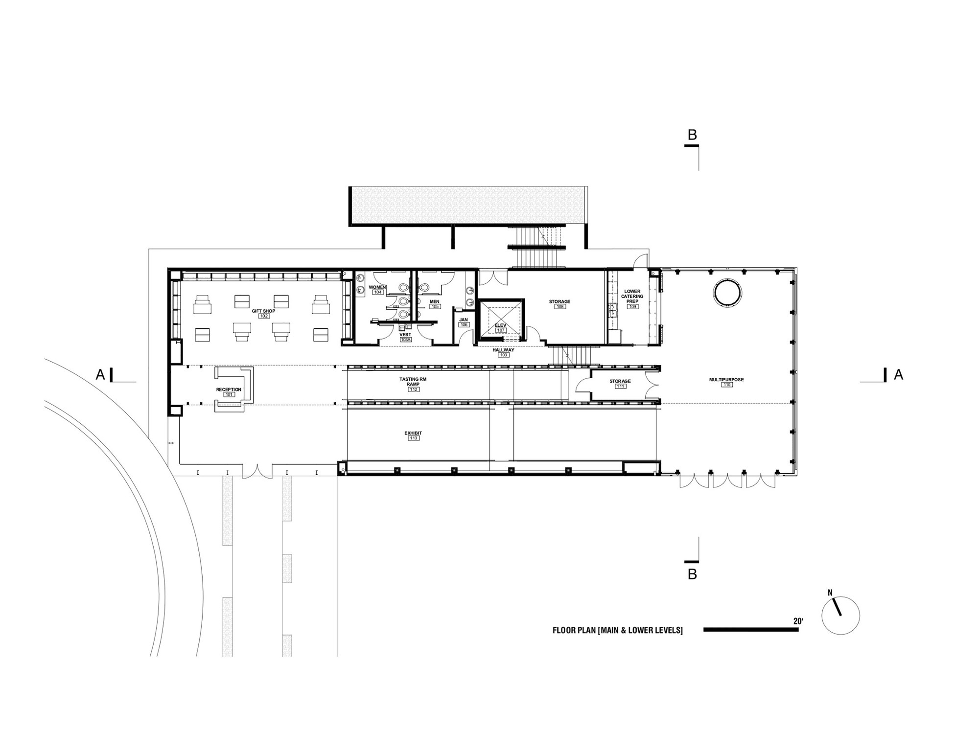 Workshop Floor Plans Gallery Of Wild Turkey Bourbon Visitor Center De Leon
