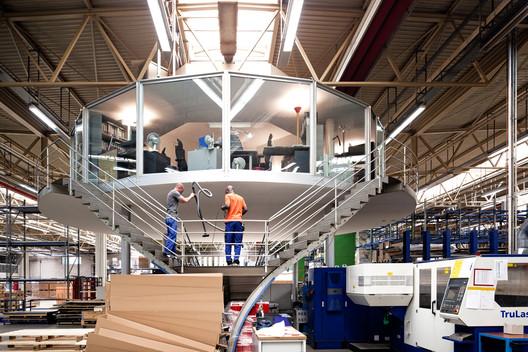 Fábrica Vitra | Weil am Rhein - 2012. Image © Fernando Guerra | FG+SG
