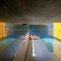 Santo Ovídio Swimming Pool - 2002. Image © Fernando Guerra | FG+SG