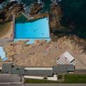 Leça da Palmeira Swimming Pool - 1966. Image © Fernando Guerra | FG+SG