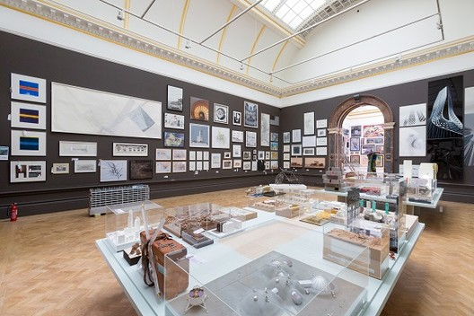 The Architecture Room. Image Courtesy of Royal Academy of Arts