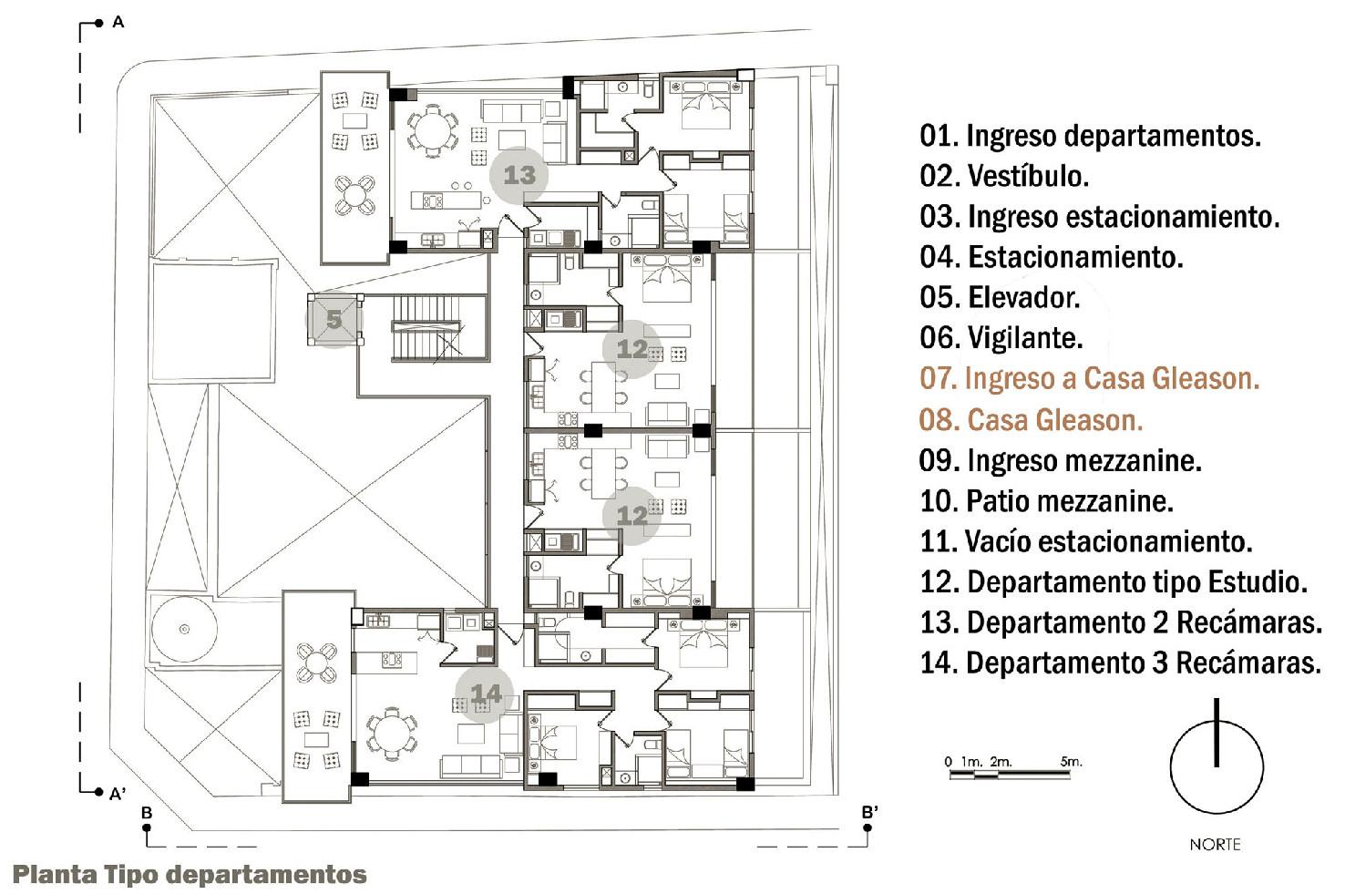 Galeria De Edif 237 Cio Residencial Gleason Trama