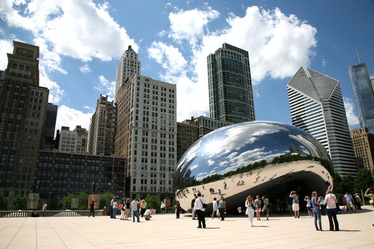 Chicago is the fifth most walkable city. Image © Vincent Desjardins via Flickr