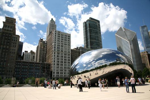 Chicago is the fifth most walkable city. Image © Vincent Desjardins via Flickr