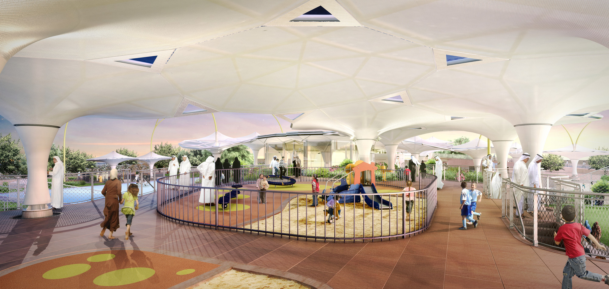 Grimshaw Picked To Design Recreational Sports Facilities