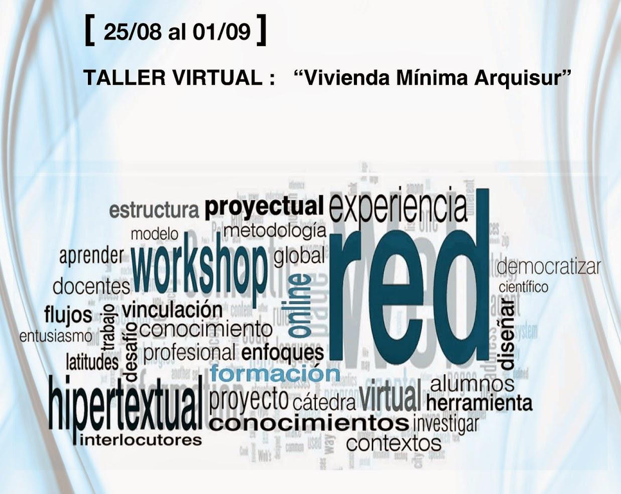 Workshop Internacional Arquisur para estudantes de arquitetura e urbanismo