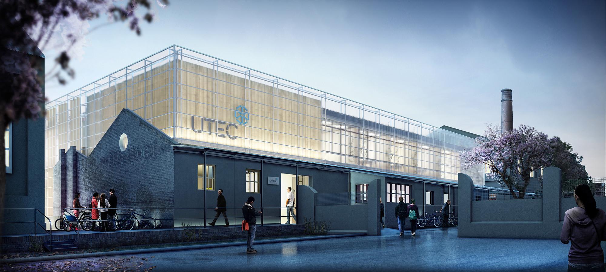 Segundo Lugar en concurso de anteproyecto del primer Instituto Tecnológico Regional UTEC / Uruguay, Cortesia de FGM Arquitectos