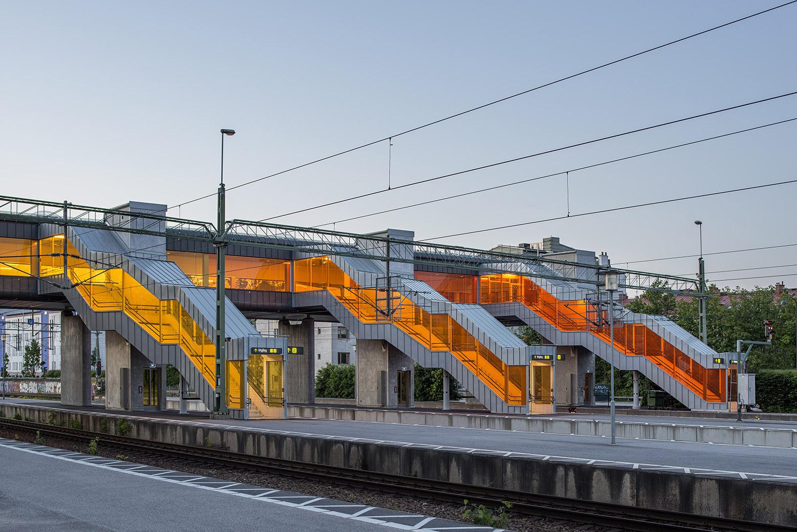 Skyttelbron Bridge / Metro Arkitekter (Sweco Architects), © Felix Gerlach