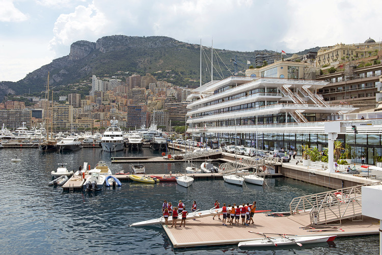 Yacht Club de Monaco / Foster + Partners | ArchDaily