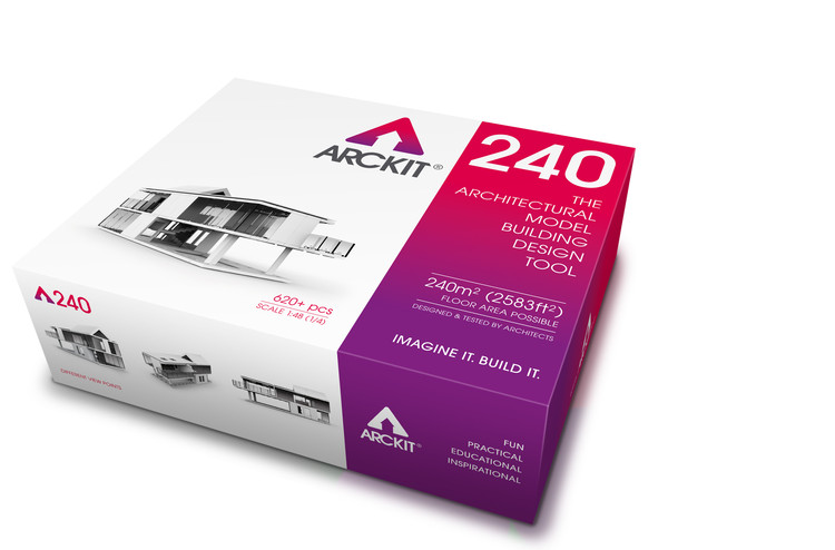 Win Your Very Own Arckit, A Freeform Model Making System, Courtesy of Arckit