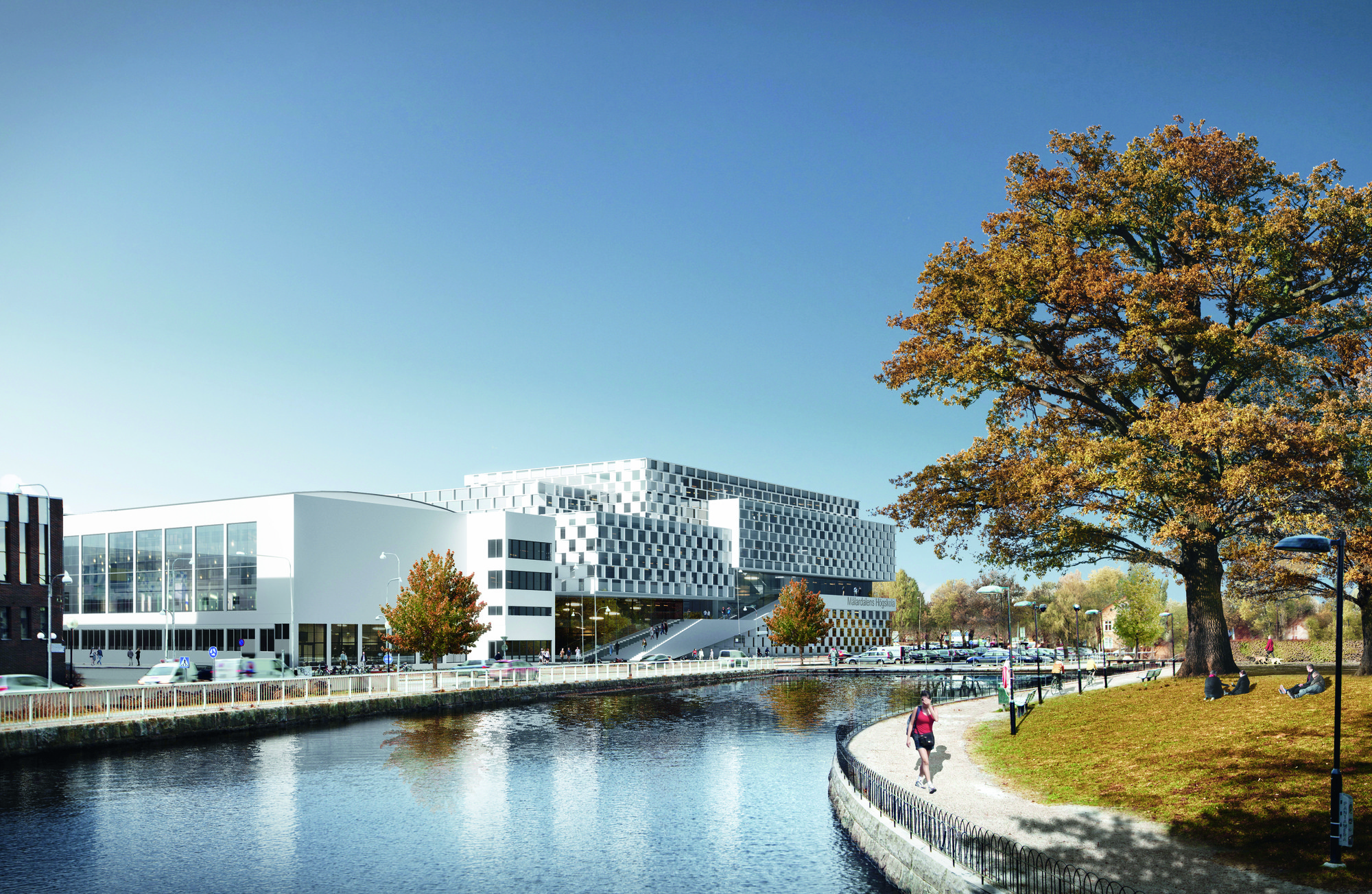 3XN Chosen Over Windgardh, Arkitema to Design University Building in Sweden, © 3XN