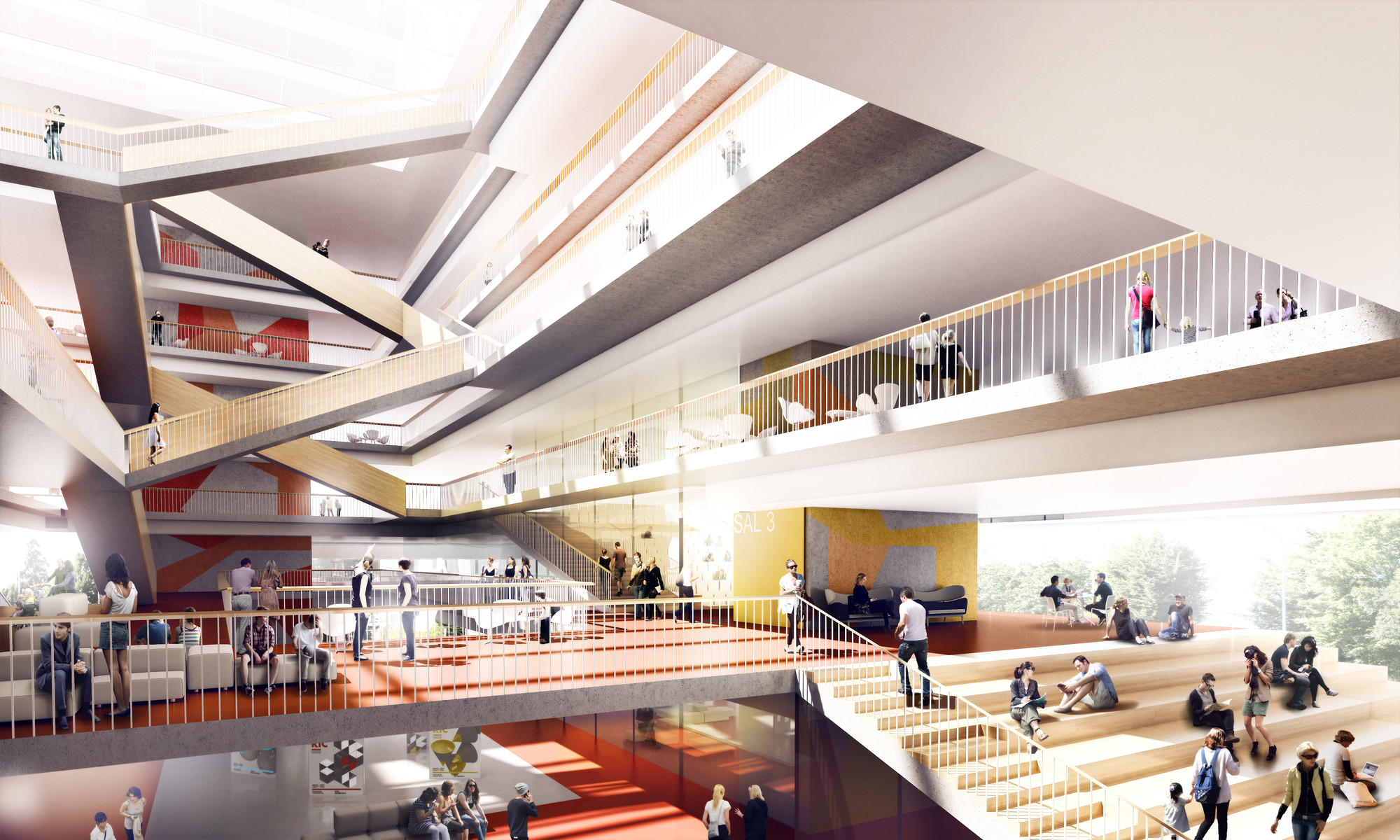 3XN Chosen Over Windgardh Arkitema To Design University Building