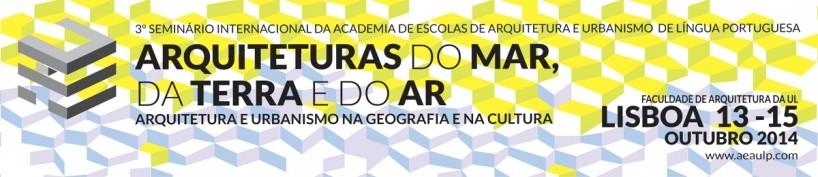 Chamada de trabalhos para o 3º Seminário Internacional da AEAULP
