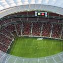Estádio Nacional em Brasilia. Imagem © Portal da Copa/ME