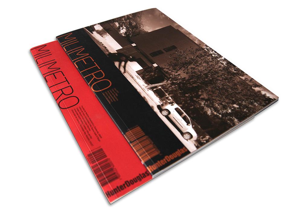 Revista Milímetro, Jeannette Plaut _ Marcelo Sarovic / Hunter Douglas
