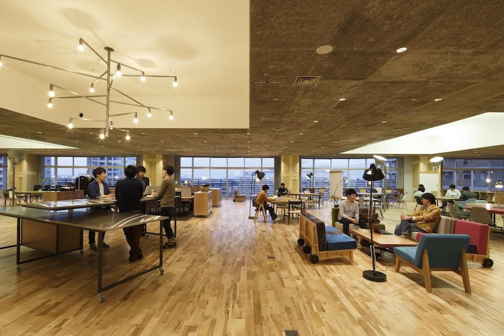 Kashiwa-no-ha Open Innovation Lab / Naruse Inokuma Architects, © Masao Nishikawa