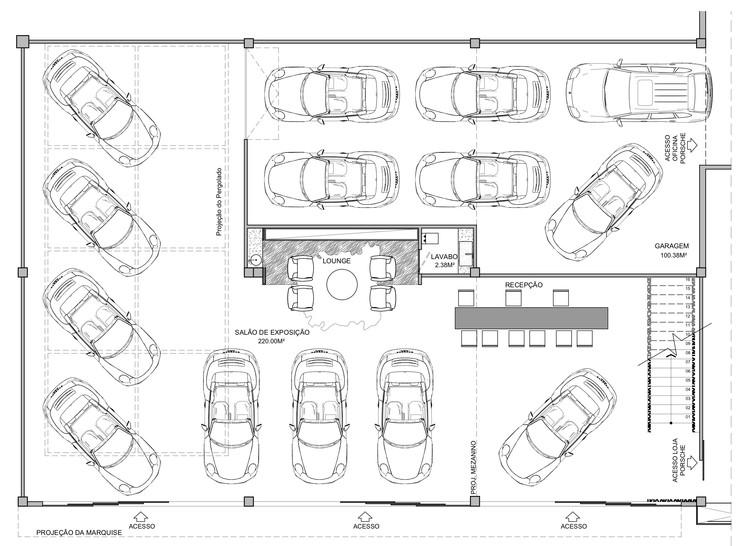 Showroom Eurobike Porsche Sainz Arquitetura Archdaily