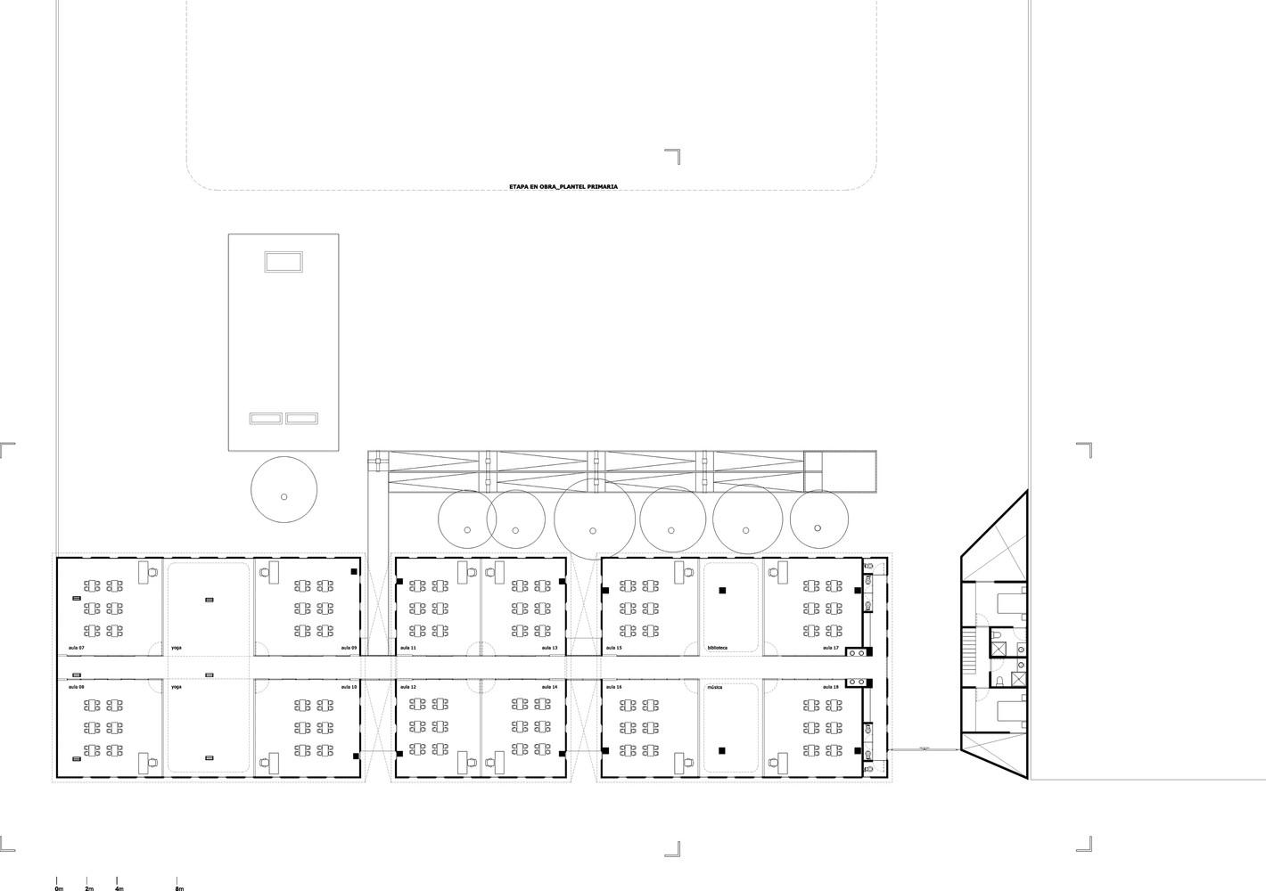 Pre school buildingsecond floor plan