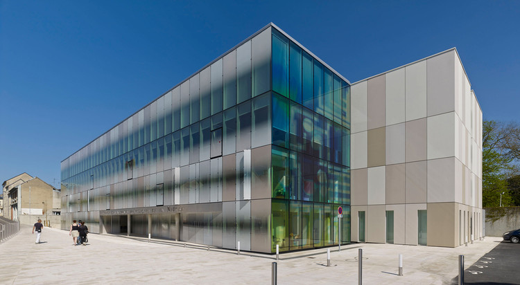 Arquivos Departamentais de Nievre / Architecture Patrick Mauger, © Didier Boy de la Tour