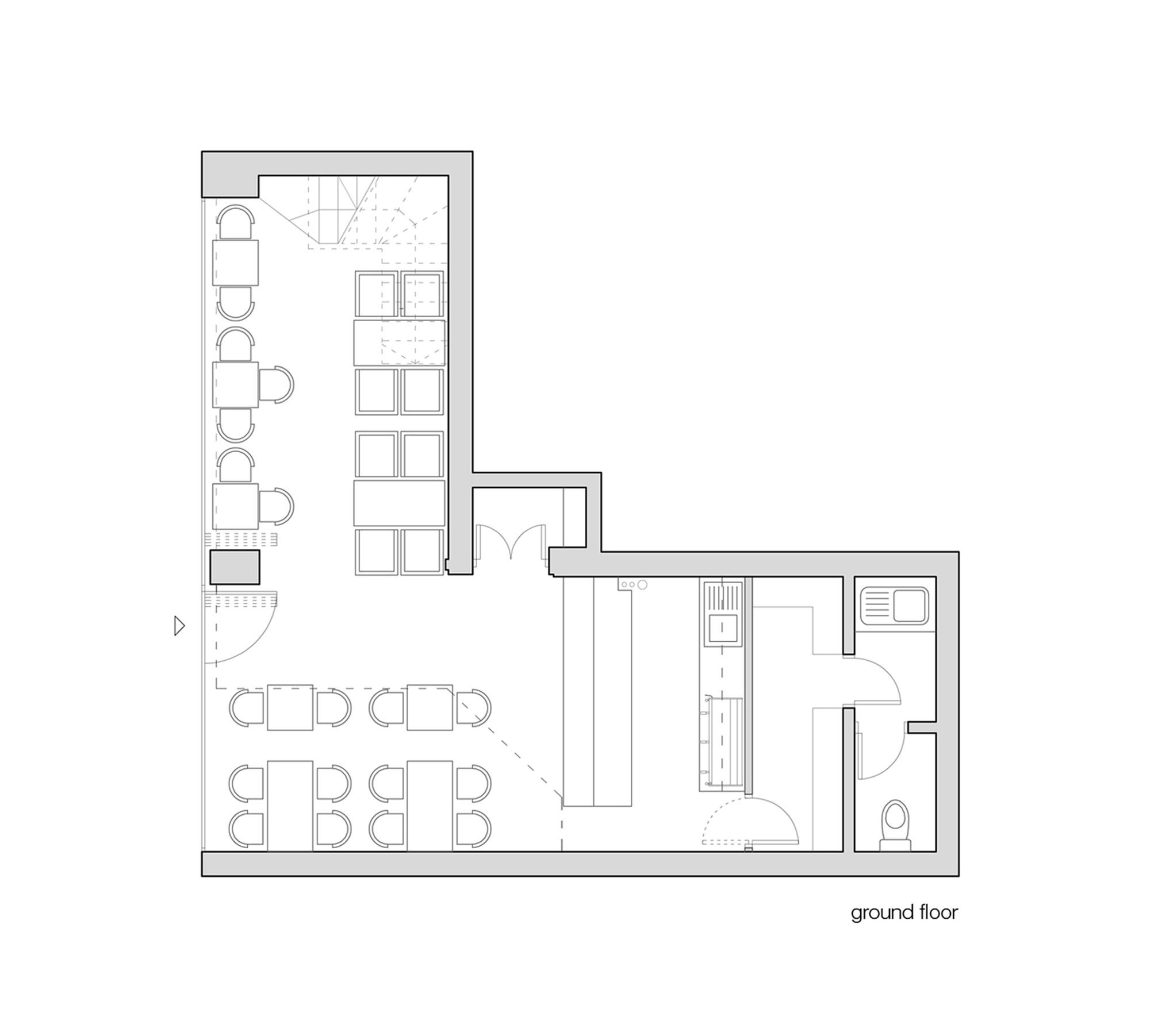 Gallery Of Stock Coffee / Arhitektura Budjevac