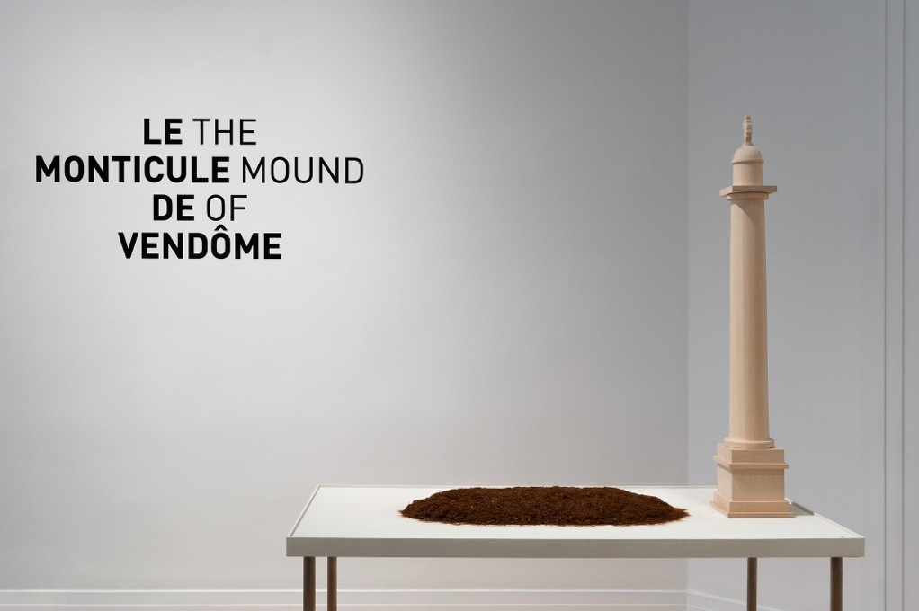 Exhibition: The Mound of Vendôme, Courtesy of CCA