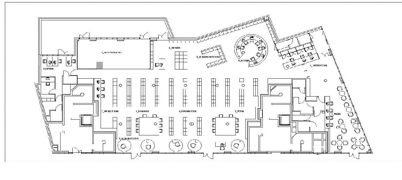 Médiathèque du Bourget / Randja - Farid Azib Architects | ArchDailyArchDaily