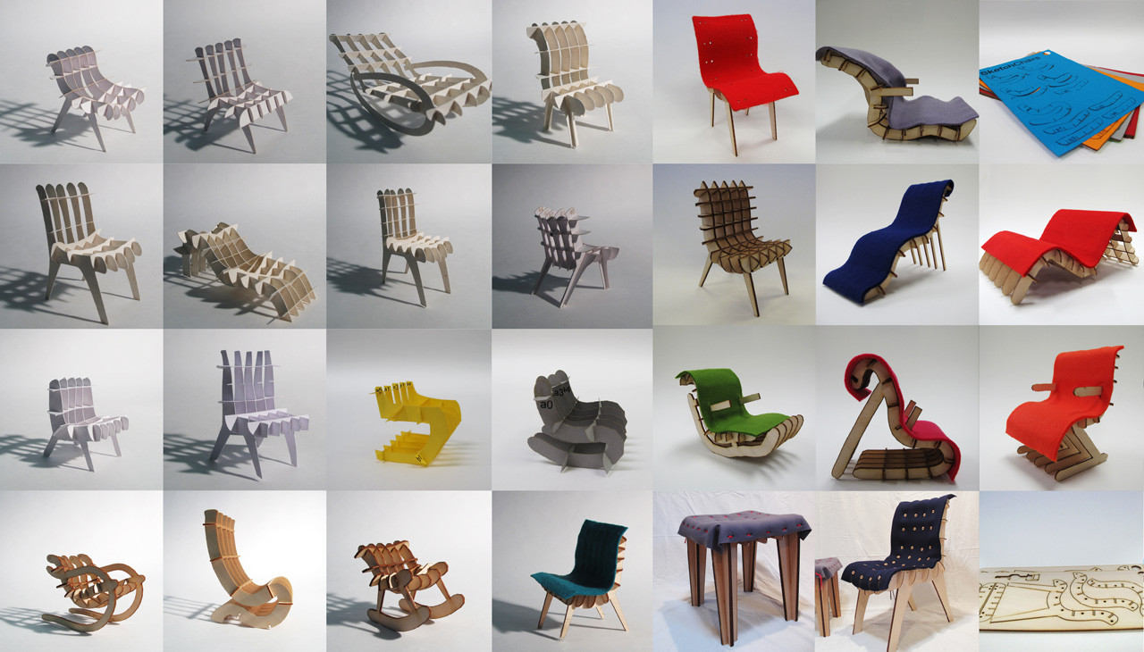 Sketch chair un programa para dise ar y construir tus for Programa para disenar muebles gratis