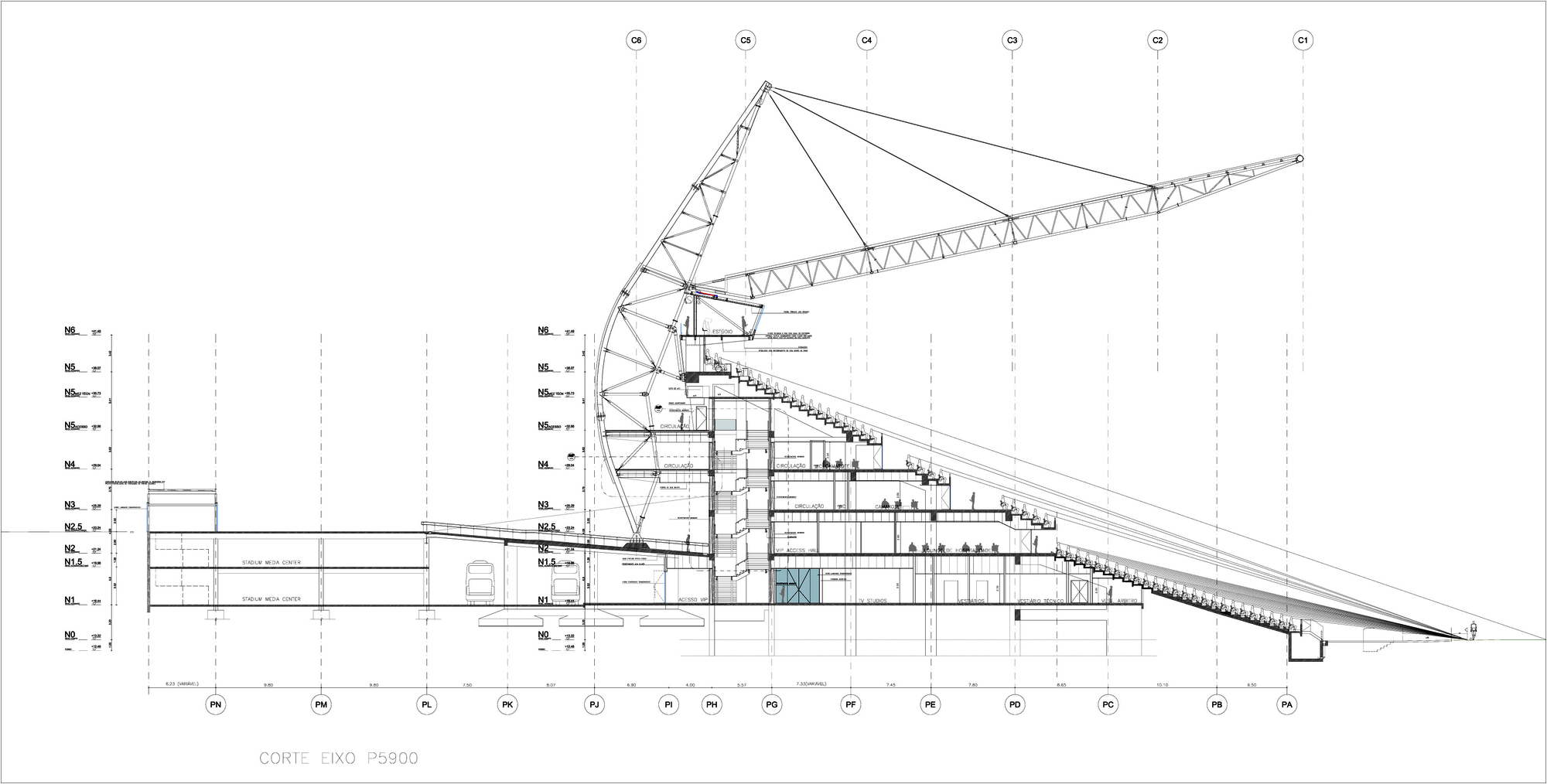 En Detalle Estructuras A Gran Escala Estadios