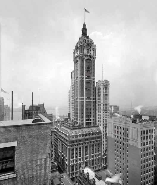 Singer Building, New York City. Image © Shorpy