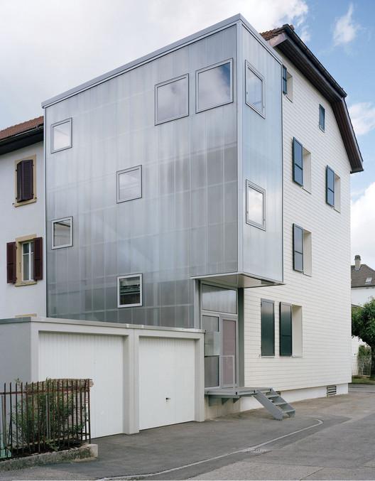 Extensão Residencial Le Noirmont  / Dubail Begert Architectes, © Joel Tettamanti