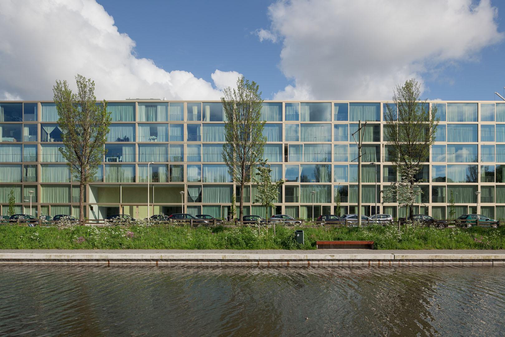 """""""Zilverzijde"""" Social Housing / Atelier Kempe Thill, © Ulrich Schwarz"""