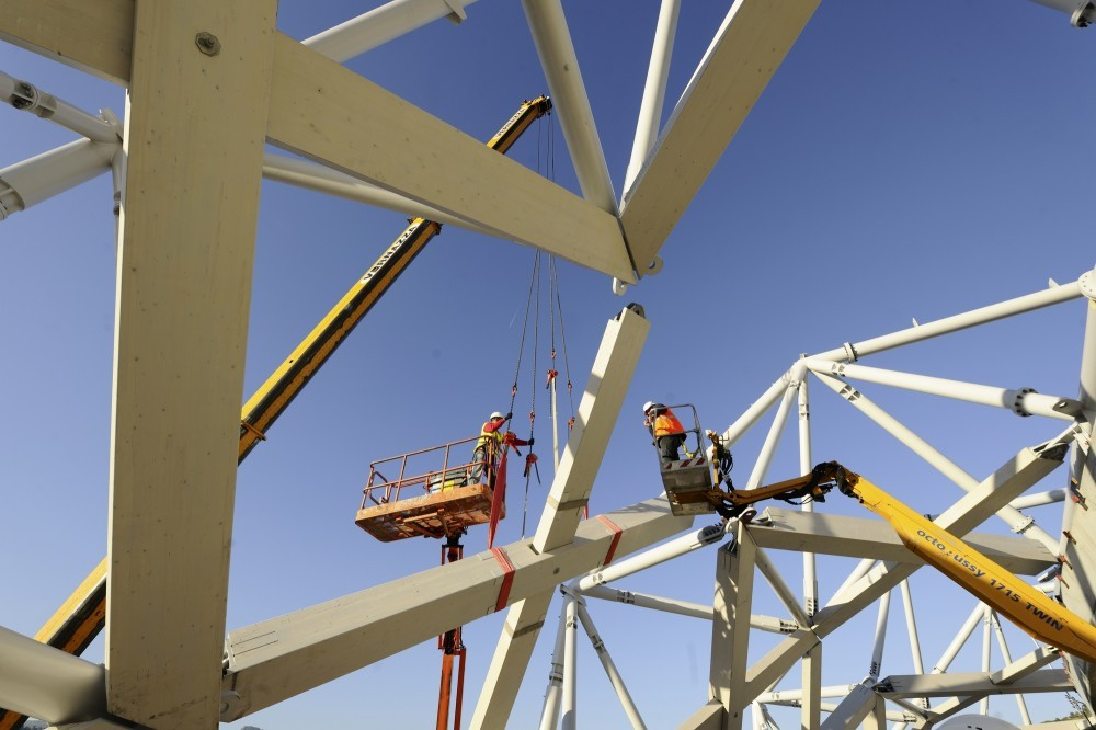 En Detalle: Estructuras a gran escala / Estadios, Willmote Allianz Rivera / Wilmotte & Associés Sa. Image © Miläne Servelle