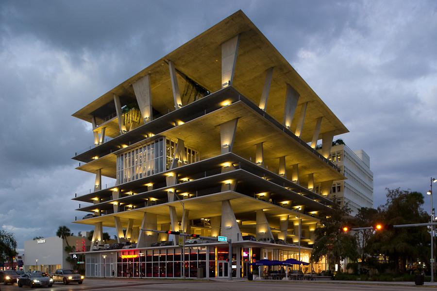 From Facades to Floor Plates & Form: The Evolution of Herzog & de Meuron, Herzog & de Meuron's 1111 Lincoln Road, Miami Beach, Florida, USA (2005-2008, realisation 2008-2010). Image Courtesy of Xavier de Jauréguiberry