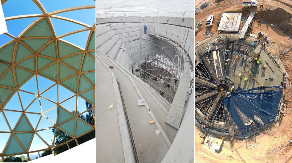 En construcci n planta circular plataforma arquitectura for Plantas de arquitectura